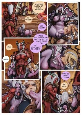 Goodcomix World of Warcraft - [Forkonatable] - Blondes Party