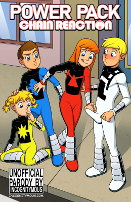 Goodcomix Power Pack - [Incognitymous] - Chain Reaction (Color edition)