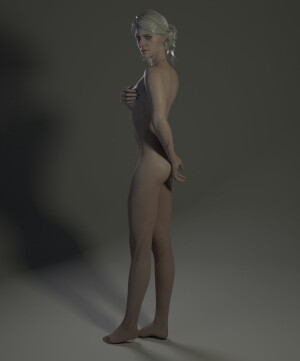 Goodcomix The Witcher - [HighTowerStudio] - Ciri & Triss