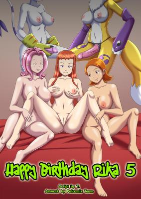 Goodcomix Digimon Adventure - [Palcomix][DigiHentai] - Happy Birthday Rika 5