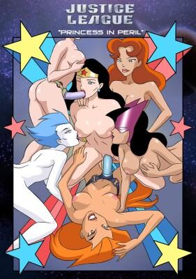 Goodcomix Justice League - [Palcomix] - Princess in Peril