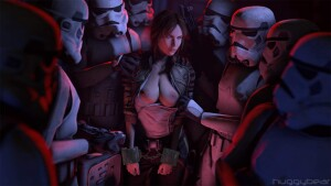 Goodcomix Star Wars - [HuggyBear742] - Rogue Infiltrator (Safe and Adult)