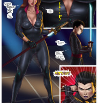 Batman - [Milftoon] - The Story About Talia al Ghul And Damian Wayne