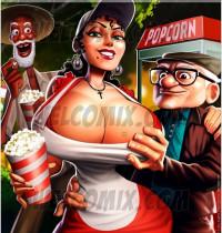 Crossover - [WelComix][Jaguar] - Old Geezers of Parks #2 - Popcorn Cart