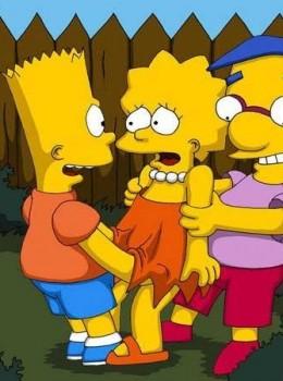 The Simpsons - [Comics-Toons] - Bart & Milhouse Fucks Lisa xxx porno